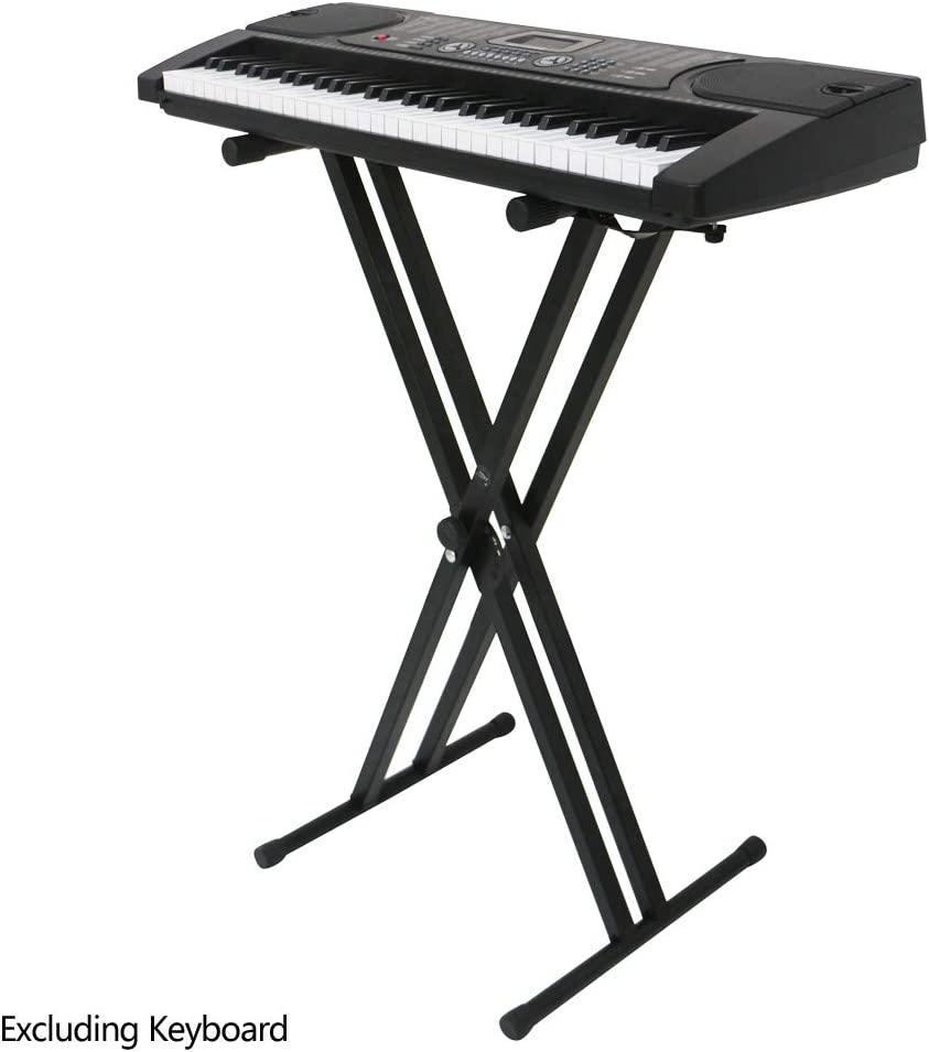 Pro X Piano Keyboard Stand with Locking Straps