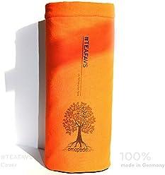 amapodo Cover Housse de Protection Orange pour Bouteilles d'eau Ø 6-8cm