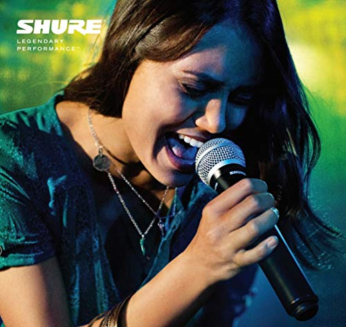 Shure BLX24/PG58-H10 Wireless Vocal System with PG58 Handheld Microphone, H10