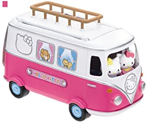 Amazon.com: Hello Kitty Camper Van Pink: Toys & Games