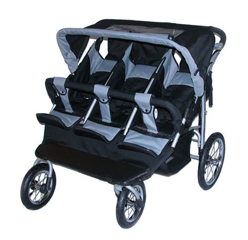 Amazon.com : Safetech Triple Jogging Stroller Baby Jogger : Baby