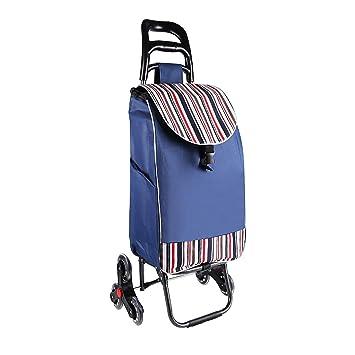 Carro Plegable portátil con Ruedas, Escalador de Escalera de Mano utilitario: Amazon.es: Hogar