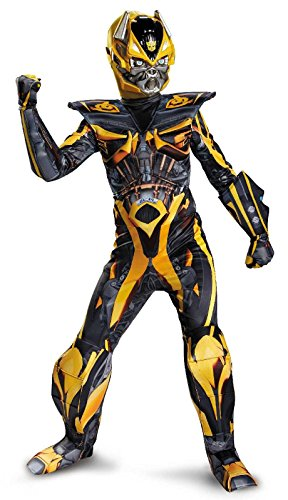 Hasbro Transformers Age of Extinction Movie Bumblebee Prestige Boys Costume, Small/4-6