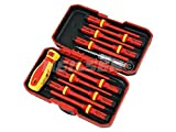 neilsen CT3794 1000 V VDE Insulated Screwdriver Set - Red