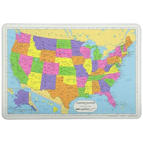 Map of USA Amazoncom