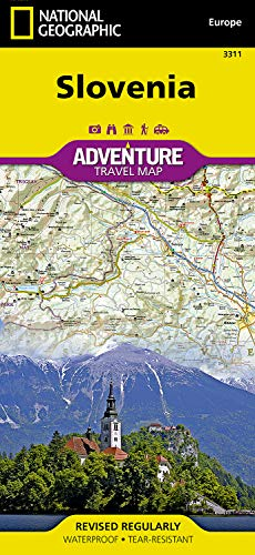 Slovenia (National Geographic Adventure Map)