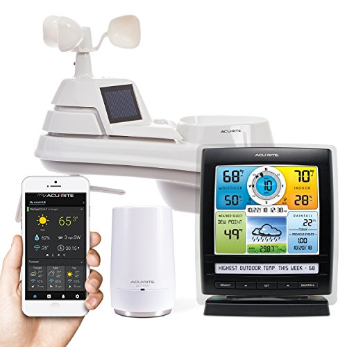 AcuRite 01012M Weather Station with AcuRite Access, Color Display and Remote Monitoring (Trend Weather Weather Station)