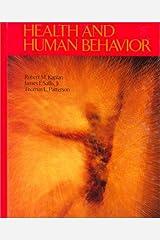 Health and Human Behavior Hardcover