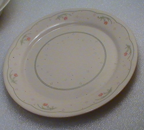 """Corelle Calico Rose 9"""" Luncheon Plates - Set of 4"""