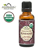 Cheap US Organic 100% Pure Rosemary Essential Oil – USDA Certified Organic, Steam Distilled – 30 ml (More Size Variations Available)