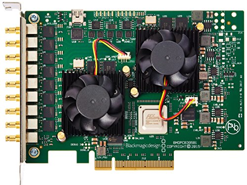 Blackmagic Design 563980Z-12 DeckLink Quad 2 8-Channel 3G-SDI Capture and Playback Card, 720p/1080p ()