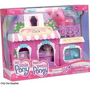 Hasbro My little Pony 60055186 - Juego de cafetería y salón de belleza