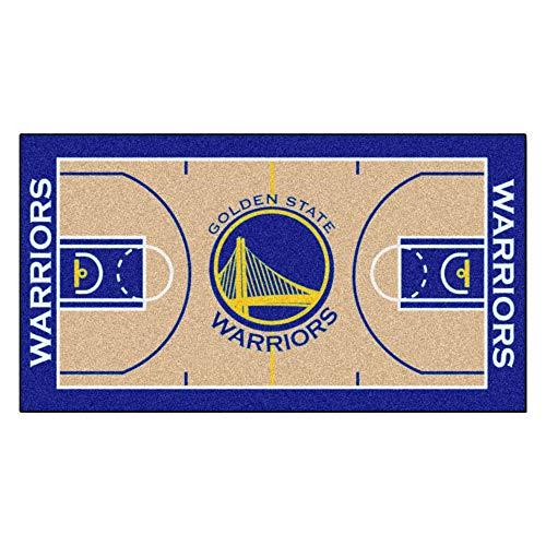 - FANMATS  9264  NBA Golden State Warriors Nylon Face NBA Court Runner-Large