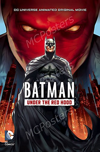 MCPosters Batman Under the Red Hood GLOSSY FINISH Movie Poster - MCP126 (24