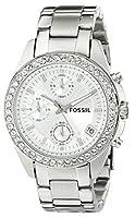 Fossil Women's ES2681 Decker Silver-Tone...