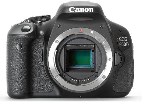 Canon EOS 600D Body - Cámara Digital (18.7 MP, SLR Body, CMOS ...