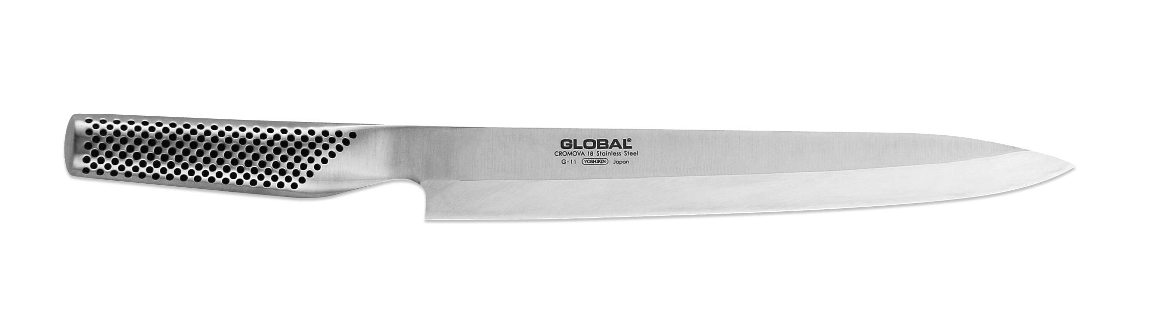 Global G-11 Yanagi Sashimi Knife, 10-Inch by Global