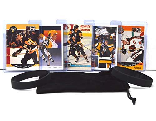 Mario Lemieux (5) Assorted Hockey Cards Bundle - Pittsburgh Penguins Trading Card