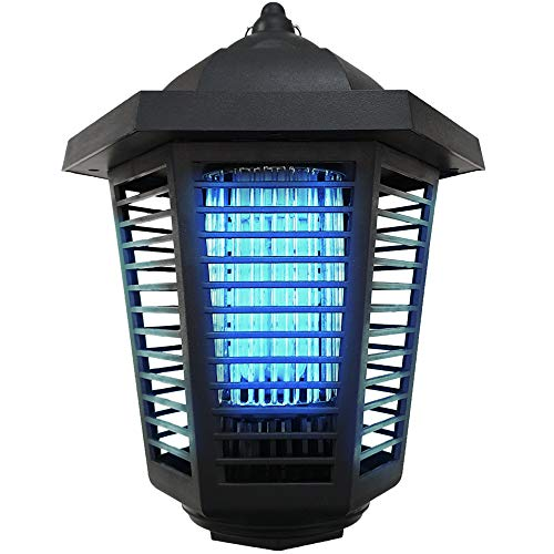 Pestnot Bug Zapper Electric Mosquito Killer - BZ1a-20W Bug Zapper Outdoor & Indoor with IP24 Water Resistance & Dedicated Atrractant Space. Upgraded 2019 360 UVA Bulb. Fly Gnat Zapper (20W)