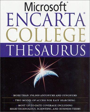 Microsoft Encarta College Thesaurus