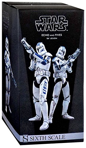 Star Wars 1/6 Military's of Star Wars Clone Trooper Echo and Fives ()