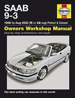 Saab 9 3 1998 to aug 2002 petrol diesel owners workshop manual saab 9 3 petrol and diesel fandeluxe Gallery