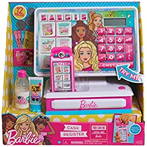 Just Play Barbie Large Cash Register Roleplay
