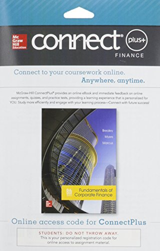 Connect Access Card For Fundamentals Of Corporate Finance