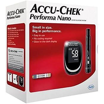 Amazon Com Accu Chek Performa Glucometer Kit With 110