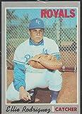 1970 Topps Ellie Rodriguez Royals Baseball Card #402