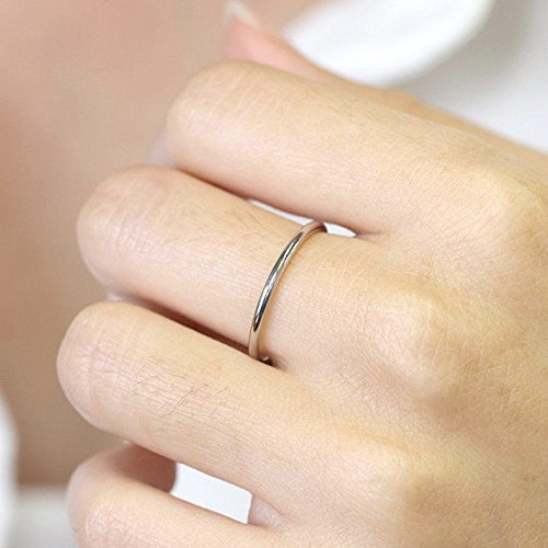 14k Gold Wedding Band 14k Solid White Gold Ring 3mm Simple Gold Wedding Band  Minimalist Gold Ring Plain Wedding Ring Gold Stackable