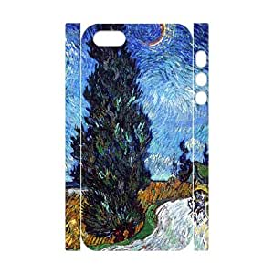 J-LV-F Cell phone Protection Cover 3D Case Van Gogh For Iphone 5,5S