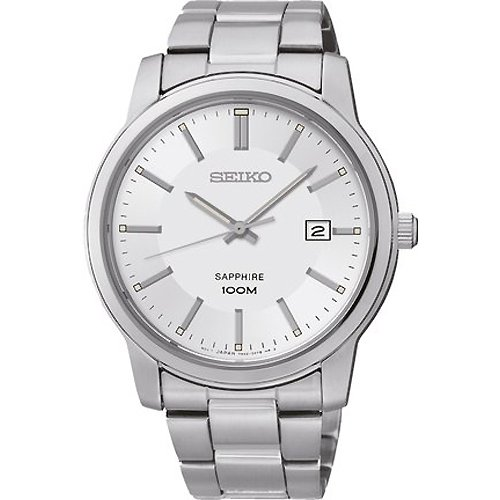 Watch Seiko Neo Classic Sgeh01p1 Men´s Silver