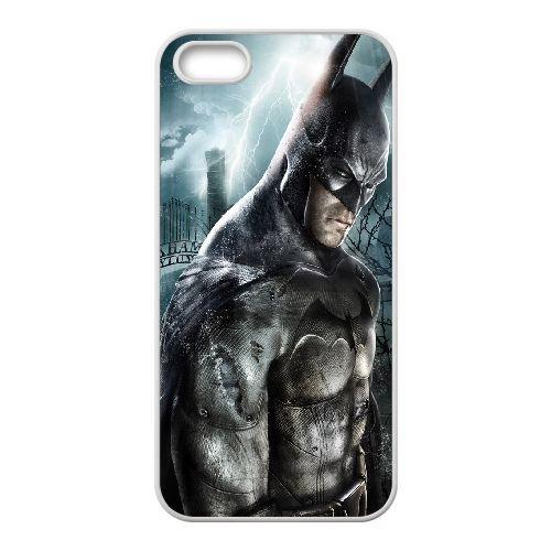 Batman Arkham Asylum coque iPhone 4 4S Housse Blanc téléphone portable couverture de cas coque EBDOBCKCO09643