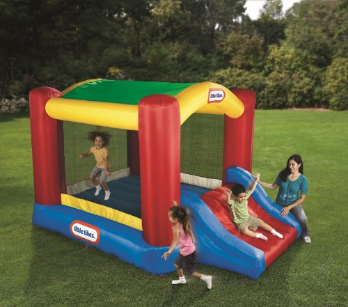 N Slide Bouncer (Little Tikes Shady Jump n Slide)
