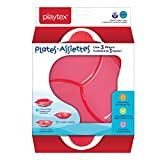 Playtex Baby BPA-Free 3-In-1 Plate For Kids, 4 Months +, Includes Plate & Plate Cover