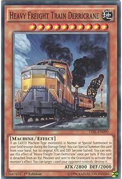 Heavy Freight Train Derricrane TDIL-EN090 Yu-Gi-Oh Card 1st Edition English New