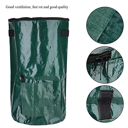 AloPW Yard Waste Bags Grow Compost Bag Ferment Waste Disposal Homemade Organic Waste Garden Yard Bag Ferment Waste Bag