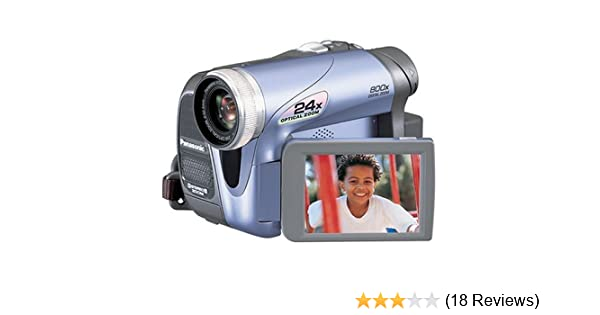 amazon com panasonic pv gs19 minidv camcorder w 24x optical zoom rh amazon com DVD Camcorder PV Panasonic GS31