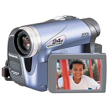 Lqqk panasonic palmcorder multicam pv-gs19 camcorder light blue.