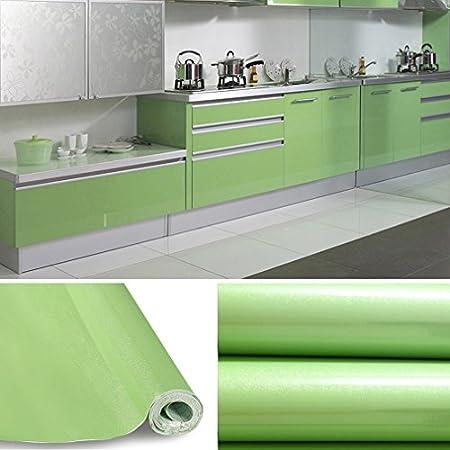 Kinlo Tapeten Küche Lila 2 Stk 61x500cm Aus Hochwertigem