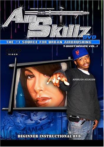 Air Skillz Hip Hop Airbrush DvD