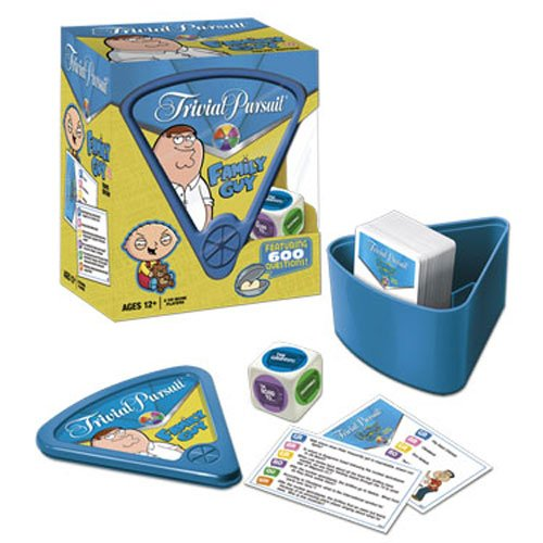 Usaopoly Family Guy Trivial Pursuit (Travel Play ()