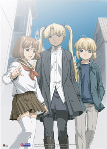 (Gunslinger Girl Wall Scroll)