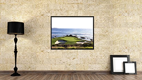 """SpotColorArt Pebble Beach Golf Course Photo Canvas Print Picture Frame Home Decor Wall Art Decoration Gift Ideas 28""""x37"""""""