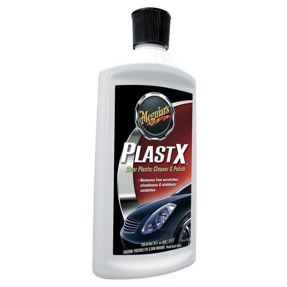 Meguiars PlastX Detergente per plastica, Kit per la pulizia e la lucidatura
