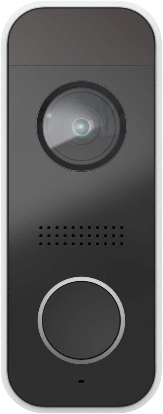 Momentum Smart Video Doorbell for Home with Package Delivery Alerts, for Smartphones | 1080p Real-Time Video, Advanced Motion Sensor, Night Vision, Two-Way Talk, 110dB Siren, Free Cloud Storage