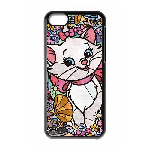 Disney Stained Glass 2 iPhone 5c Handy-Fall Hülle schwarz N0Z8OQGVXC