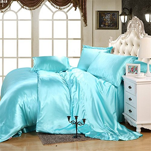 Selection Bedding Luxurious Ultra Soft Silky Satin 7-Piece B
