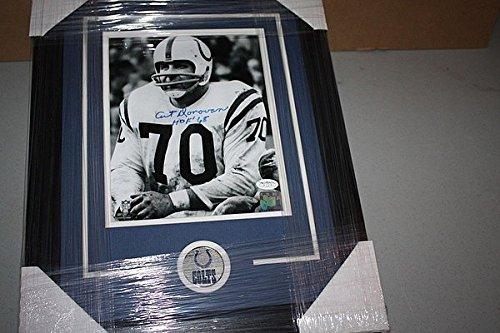 Baltimore Colts Art Donovan Signed Framed 8x10 Photo Hof 1968 JSA Stamp 1968 Baltimore Colts